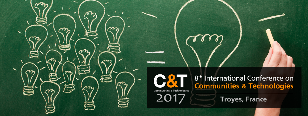 8th International Conference on Communities and Technologies 2017